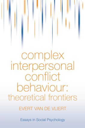 Complex Interpersonal Conflict Behaviour: Theoretical Frontiers, 1st Edition (Paperback) book cover