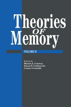 Theories Of Memory II: 1st Edition (Paperback) book cover