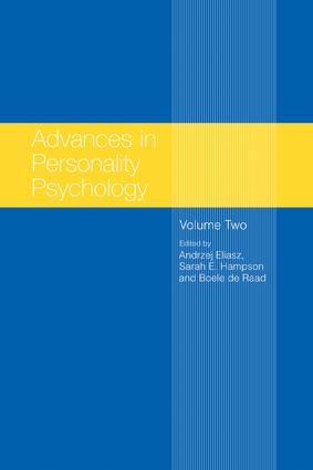 Advances in Personality Psychology