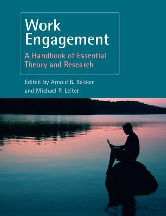 Work Engagement: A Handbook of Essential Theory and Research, 1st Edition (Paperback) book cover