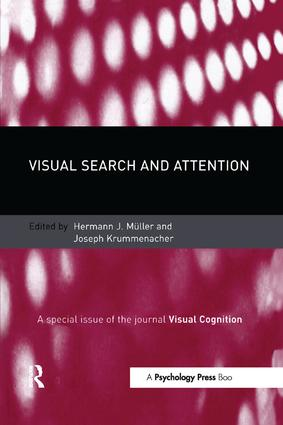 Visual Search and Attention: A Special Issue of Visual Cognition book cover