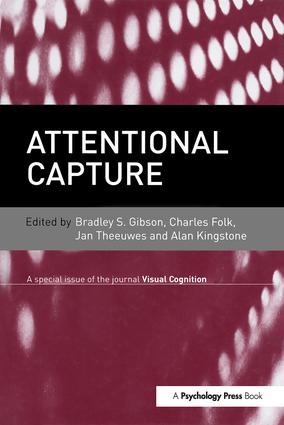 Attentional Capture: A Special Issue of Visual Cognition book cover