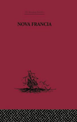Nova Francia: A Description of Acadia, 1606 (e-Book) book cover