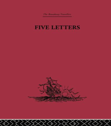 Five Letters 1519-1526: 1st Edition (Paperback) book cover