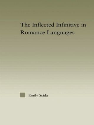 The Inflected Infinitive in Romance Languages: 1st Edition (Paperback) book cover