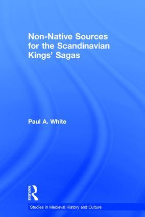 Non-Native Sources for the Scandinavian Kings' Sagas book cover