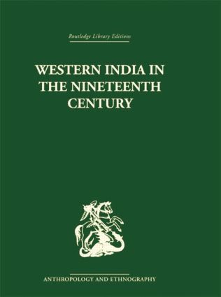 Western India in the Nineteenth Century: 1st Edition (Paperback) book cover