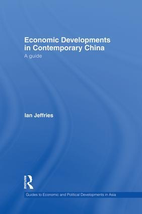 Economic Developments in Contemporary China
