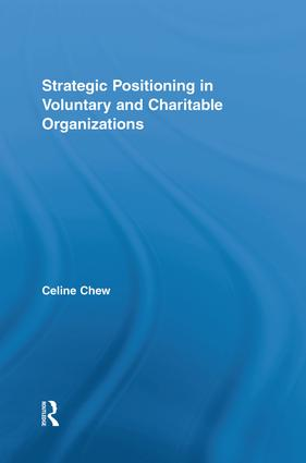 Strategic Positioning in Voluntary and Charitable Organizations: 1st Edition (Paperback) book cover