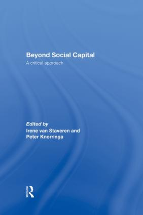 Beyond Social Capital: A critical approach, 1st Edition (Paperback) book cover