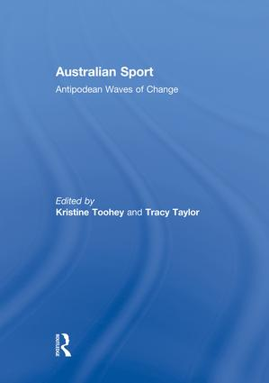 Australian Sport: Antipodean Waves of Change, 1st Edition (Paperback) book cover