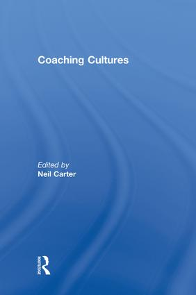 Coaching Cultures: 1st Edition (Paperback) book cover
