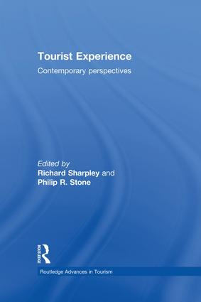 Tourist Experience: Contemporary Perspectives (Hardback) book cover
