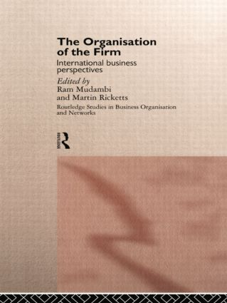 The Organisation of the Firm