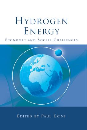 Hydrogen Energy: Economic and Social Challenges, 1st Edition (Paperback) book cover