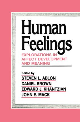 Human Feelings: Explorations in Affect Development and Meaning, 1st Edition (Paperback) book cover