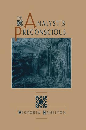 The Analyst's Preconscious: 1st Edition (Paperback) book cover