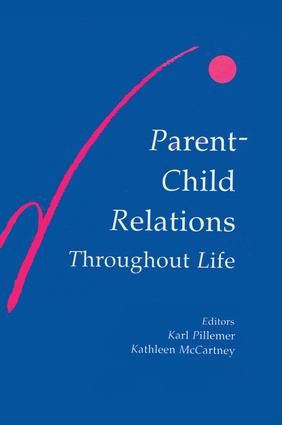 Parent-child Relations Throughout Life (Hardback) book cover