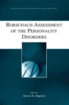 Rorschach Assessment of Depressive Personality Disorder