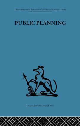 Public Planning: The inter-corporate dimension, 1st Edition (Paperback) book cover