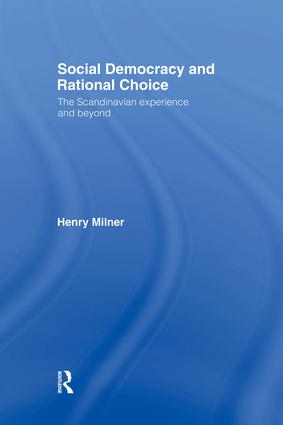 Social Democracy and Rational Choice (Hardback) book cover