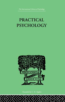 Practical Psychology: FOR STUDENTS OF EDUCATION, 1st Edition (Paperback) book cover