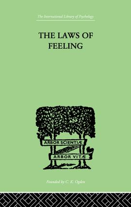 The Laws Of Feeling: 1st Edition (Paperback) book cover