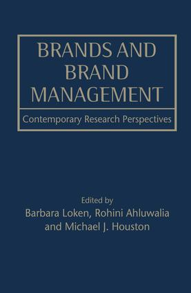 Brands and Brand Management: Contemporary Research Perspectives, 1st Edition (Paperback) book cover