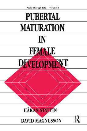 Pubertal Maturation in Female Development: 1st Edition (Paperback) book cover