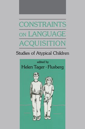 Constraints on Language Acquisition