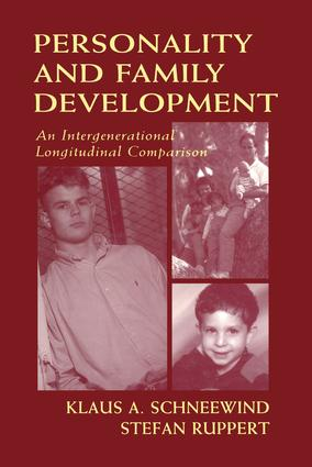 Personality and Family Development: An Intergenerational Longitudinal Comparison, 1st Edition (Paperback) book cover