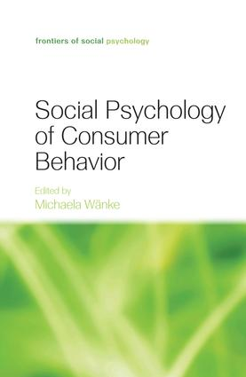 Social Psychology of Consumer Behavior: 1st Edition (Paperback) book cover