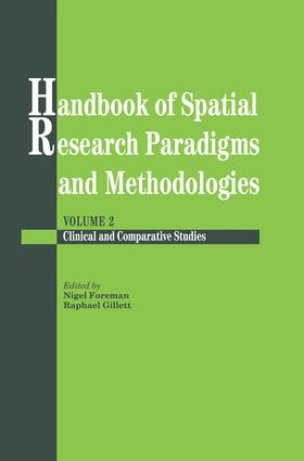 Handbook Of Spatial Research Paradigms And Methodologies (e-Book) book cover