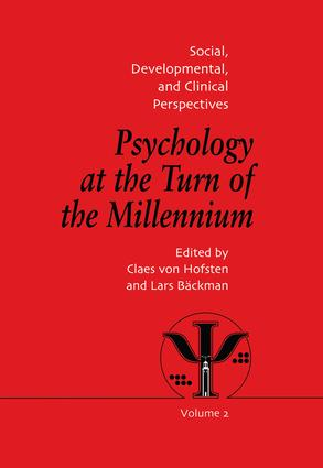 Psychology at the Turn of the Millennium, Volume 2: Social, Developmental and Clinical Perspectives (e-Book) book cover