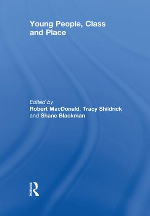 Young People, Class and Place: 1st Edition (Paperback) book cover