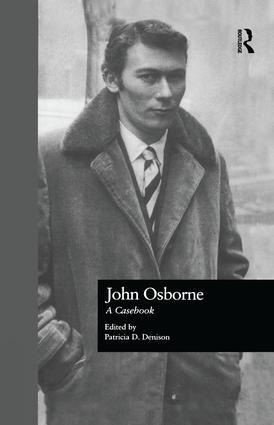 John Osborne: A Casebook book cover