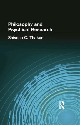 Philosophy and Psychical Research: 1st Edition (Paperback) book cover