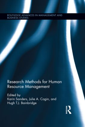 Research Methods for Human Resource Management book cover