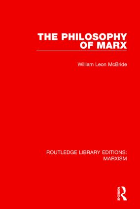 The Philosophy of Marx (RLE Marxism): 1st Edition (Hardback) book cover
