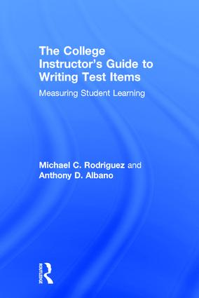 The College Instructor's Guide to Writing Test Items