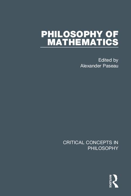 Philosophy of Mathematics book cover