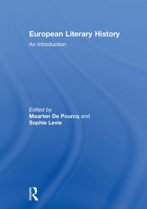 European Literary History: An Introduction, 1st Edition (Hardback) book cover