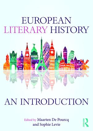 European Literary History: An Introduction book cover