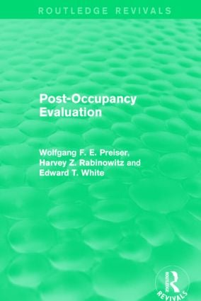 Post-Occupancy Evaluation (Routledge Revivals): 1st Edition (Hardback) book cover