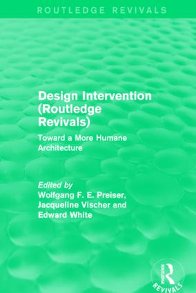 Design Intervention (Routledge Revivals): Toward a More Humane Architecture, 1st Edition (Hardback) book cover