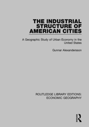 The Industrial Structure of American Cities book cover