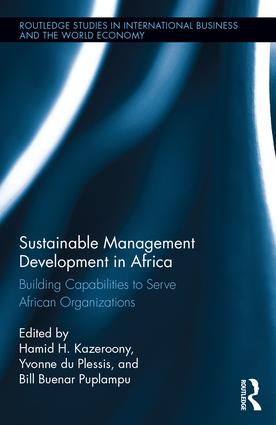 Sustainable Management Development in Africa: Building Capabilities to Serve African Organizations book cover