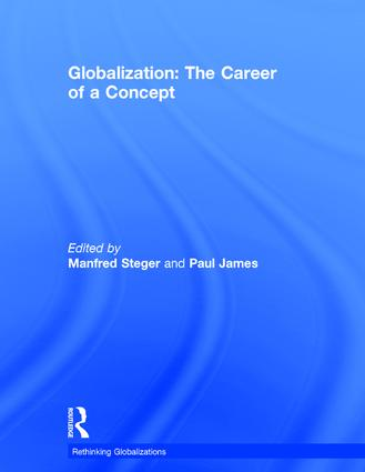 Globalization: The Career of a Concept book cover