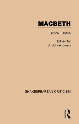 Macbeth Critical Essays St Edition Paperback  Routledge Macbeth Critical Essays St Edition Paperback Book Cover Harvard Business School Essay also Science And Religion Essay  Buy University Of Phoenix Course Work
