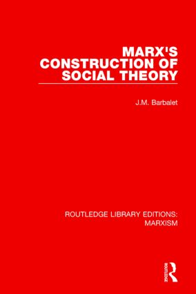 Marx's Construction of Social Theory: 1st Edition (Paperback) book cover